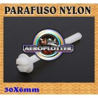 PARAFUSO DE NYLON 6X30MM