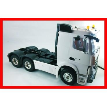 HERCULES HOBBY -  Escala 1 14 Trator Caminhão Mercedes Actros 3551 6x4 teto baixo
