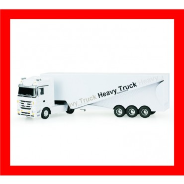 RUICHUANG QY1101 1/32 2.4G elétrica Mercedes Benz Container Heavy Truck RTR RC Car