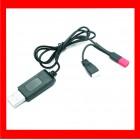 CARREGADOR USB PARA BATERIAS LIPO 4.2V