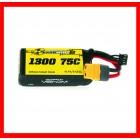Battery Venom LiPo, 75C 3S 1300mAh 11.1V Battery, LiPo, 75C 3S 1300mAh 11.1V Especificações: Tipo de Bateria: Lithium Ion (Li-ION..