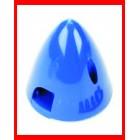 Spinner  AZUL 38mm 1-1/2 Pol. Eixo 4mm