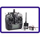 Transmissor Upgrade FlySky FS-TH9X 2.4G 9CH com FS-R9B RM002 Modo 2