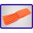 HELICE Slowfly Hélice 9x5 Orange (CCW) (5pcs)