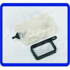 TANQUE RESERVA  para todos os 30-90 tamanho Heli (suporte de plástico)