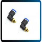 Cotovelo Macho Ar Pneumático Quick Pipe Conectores Fitting 4mm Para M5