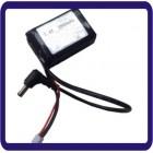 7.4V 2800mAh bateria LiPo DC 5,5 x 2,5 para FPV Goggles Headset Fatshark Headplay Eachine