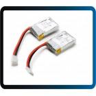 HiSKY HCP60 HCP80 HCP80V2  3.7V 180mAh bateria