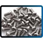 Parafusos M2 x 4mm Phillips cabeça de metal de aço inoxidável