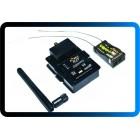 FrSky DJT 2.4Ghz Combo Pack para JR / Flysky / Turnigy 9XR com módulo de telemetria e V8FR-II RX