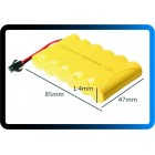 BATERIA 7.2V 400mAh NI-CD Rechargeable Battery