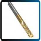 Fresa Cortador CNC -Tungsten aço titânio revestido Carbide - 3.175mm