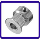 GT2 Pulley 16 dentes Bore 5MM sincronismo engrenagem de alumínio para Acessórios Impressão GT2 Belt Largura 6MM 3D
