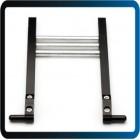 Titular suporte de metal futaba jr para o sistema de rádio transmissor