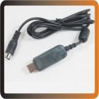 CABO Dados - Flysky cabo usb linha de download para fs-i6 fs-t6 atualização de firmware transmissor