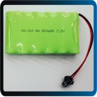 BATERIA 7.2V 700mAh NI-CD Rechargeable Battery