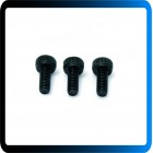 Parafusos M2.5 6mm Black Carbon Steel Hex Socket Head Screw Set