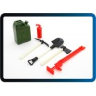 1/10 Scale Defender Accessory Set - Red