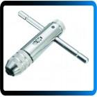 T-handle chave catraca torneira com rosca máquina