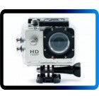 Câmera Hd 720p Sports Cam Prova D'agua com Entrada Mini Sd