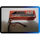 BATERIA  Rhino 2620mAh 3S 11.1v Low-Discharge Transmitter Lipoly Pack -RECONDICIONADA