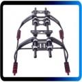 Aumentar Landing Gear Kit w / Anti-vibração Almofada para DJI F450 F550 multi