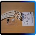 TREM DE POUSO ALTO PARA F450 F550 sk450 Z450 tl450 engrenagem universal skid 4 pcs