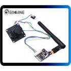 Eachine 700TVL 1/3 CMOS FPV módulo da câmera de 110 graus w / 32CH transmissão de imagem