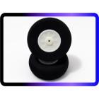 Pneu 50 - espuma extra rígida c/ cubo nylon - 50 x 21mm - perfil reto