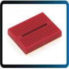 Protoboard Mini  170 Pts 35x47x8,5mm KS214 - VERMELHO