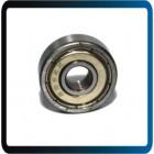 Rolamentos de esferas de sulco profundo 3x10x4mm 10pcs 623-zz rolamentos em miniatura