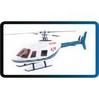 Bell 206 Fiberglass Fuselage for 450 size heli