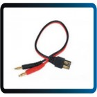 Adaptador Traxxas Charge Lead, TRX Connector to 4mm