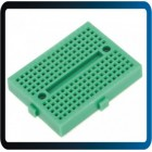 Protoboard Mini  170 Pts 35x47x8,5mm KS214 - VERDE