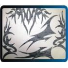 LHP - 0703 Cartela de máscara p/ pintura de bolhas TRIBAL