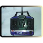 TRANSMISSOR FS-T4A 2.4G 4ch USB Programmable RC