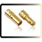 3,5 milímetros bala ouro Banana Conector para ESC Bateria Motor