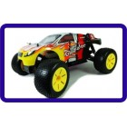 AUTOMODELO RC NITRO/COMBUSTÃO  TRUGGY HSP 1/10 4WD -AM 27mhz - HSP94110