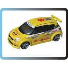 Professional 1/28 Mini Z RC Car  2wd race car Suzuk Swift (yellow) - l 213