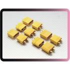 Nylon XT90 Connectors Male/Female (5 pairs)