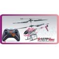 Syma S107P 3CH controle remoto RC helicóptero com giroscópio