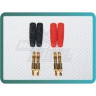 4MM Banana Plug / Charge Plug (solder type) (2 pair/bag)