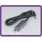 USB Simulator Lead for Turnigy GTX3 Transmitter - VRC Sim Compatible