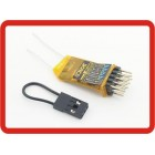 OrangeRx R400 Spektrum/JR DSM2 Compatible 4Ch 2.4Ghz Receiver