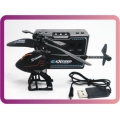 Super Mini 2.5CH Raider S125 dobrável R / C Helicopter!