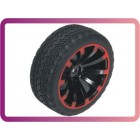 1/10 On-road Rubber Tyre 4Pcs For HSP Tamiya Losi