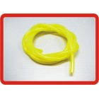 MANGUEIRA PARA GASOLINA Silicon fuel pipe (1 mtr) Yellow for Gas/Glow Engines 4.8x2.5mm