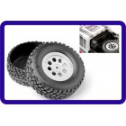 HPI 103773 Plastic Truck Bed Tire (2) Mini Trophy