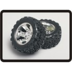 1/8 Monster Truck Wheel & Tyre 12 milímetros Hex