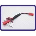 Multi-plug de carga para baterias de chumbo Micro Model (Walkera / NE / Pico / E-flite / JST)